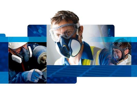 3M gas-dampmaskers, vervang tijdig uw filters!