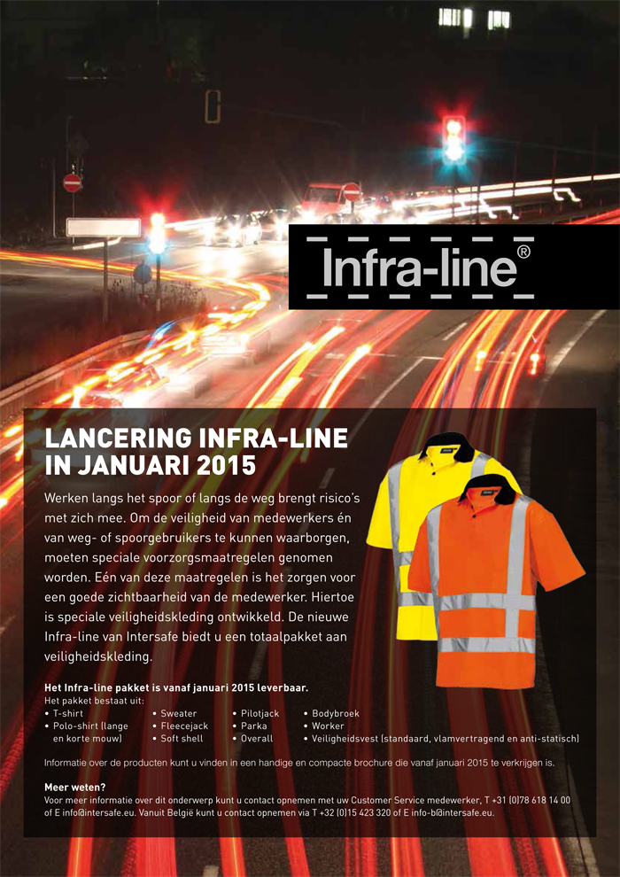 Nieuw kledingpakket van Intersafe gesignaleerd