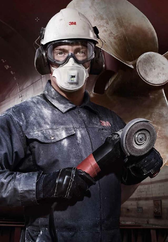 Wist je dat 3M een uitgebreid assortiment aan ademhalingsbescherming heeft?