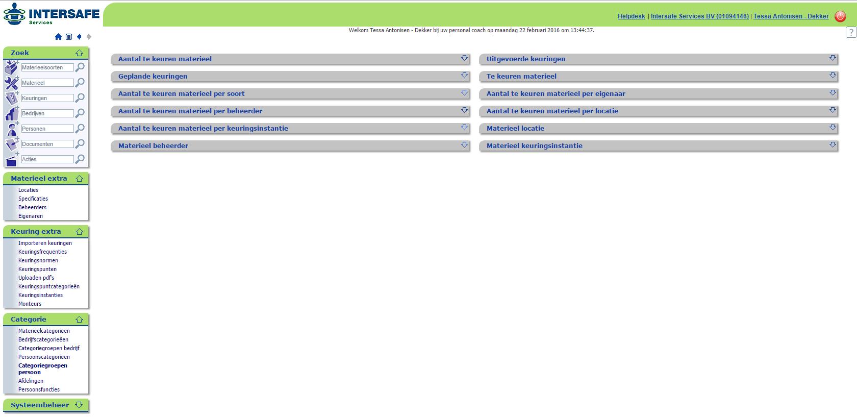 Matman: Online inzicht in onderhoud