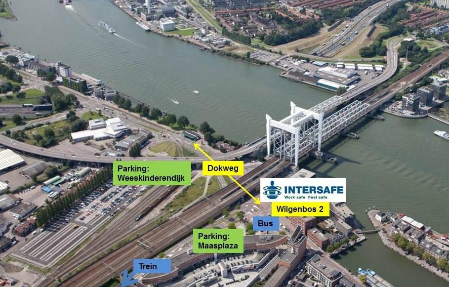 Nieuw hoofd kantoor Intersafe in Nederland, Dordrecht