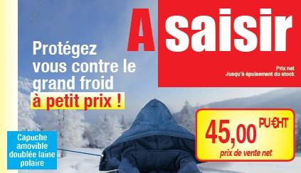 Protégez-vous contre le grand froid à petit prix !