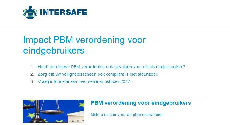 NIEUWSBRIEF: Impact PBM verordening voor eindgebruikers
