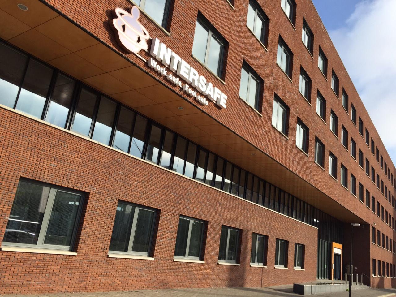 Le siège social européen d'Intersafe a déménagé