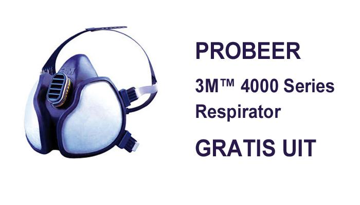3M 4000 Series Respirator (probeer gratis)