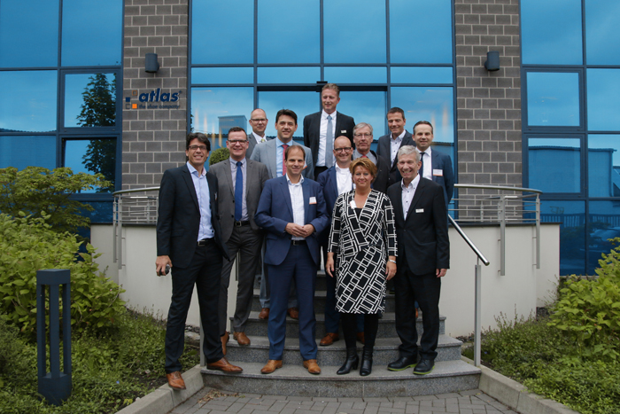 Atlas invites Intersafe in a discussion about safety and welfare