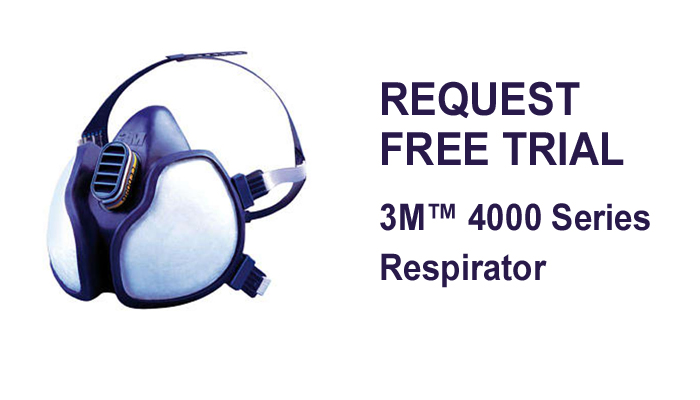 3M™ 4000 Series Respirator (try out for free)