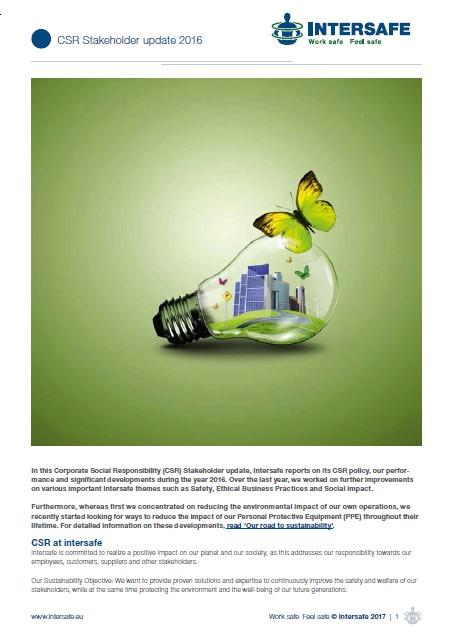 CSR stakeholder update