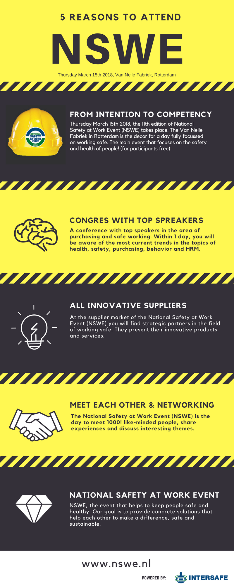 5 reasons to attend NSWE