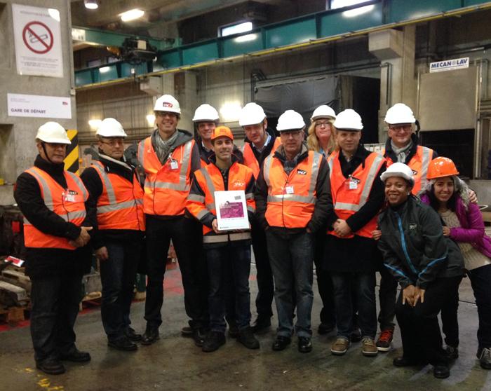 Samenwerking Intersafe en SNCF vergroot het veiligheid bewustzijn