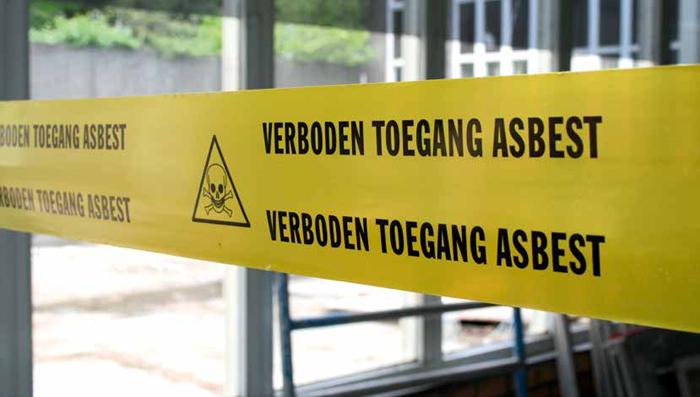 Werken met asbest: stof tot nadenken