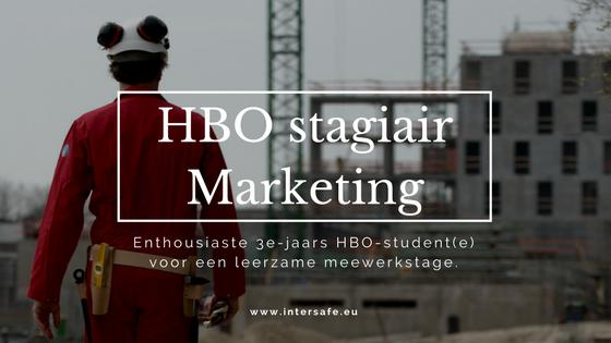 HBO stagiair Marketing
