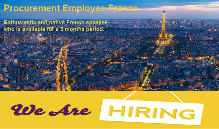VACATURE | Procurement Employee France
