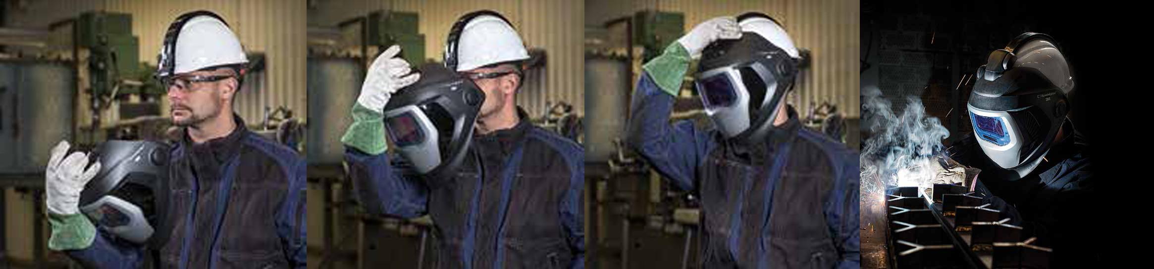 Geen compromis meer: Niet meer lassen zonder hoofdbescherming