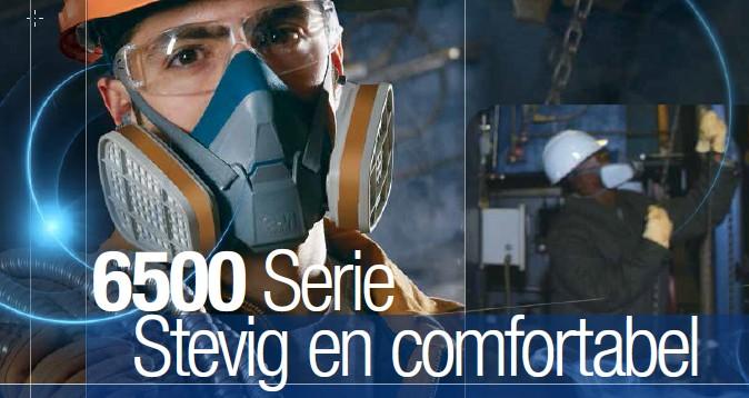 3M 6500-serie herbruikbare halfgelaatsmaskers