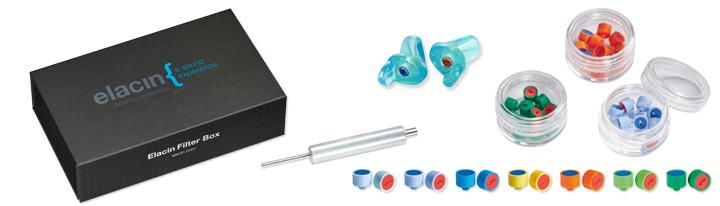 Elacin filter boxes