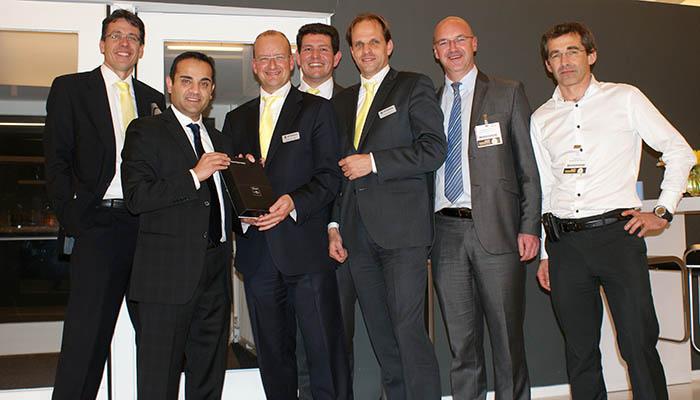 Samenwerking tussen Intersafe en Honeywell Safety Products wordt beloond met Platinum award