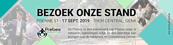 Intersafe Belgium present op Prenne 51 2019