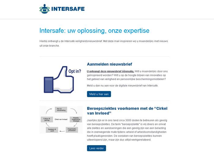 Intersafe: uw oplossing, onze expertise