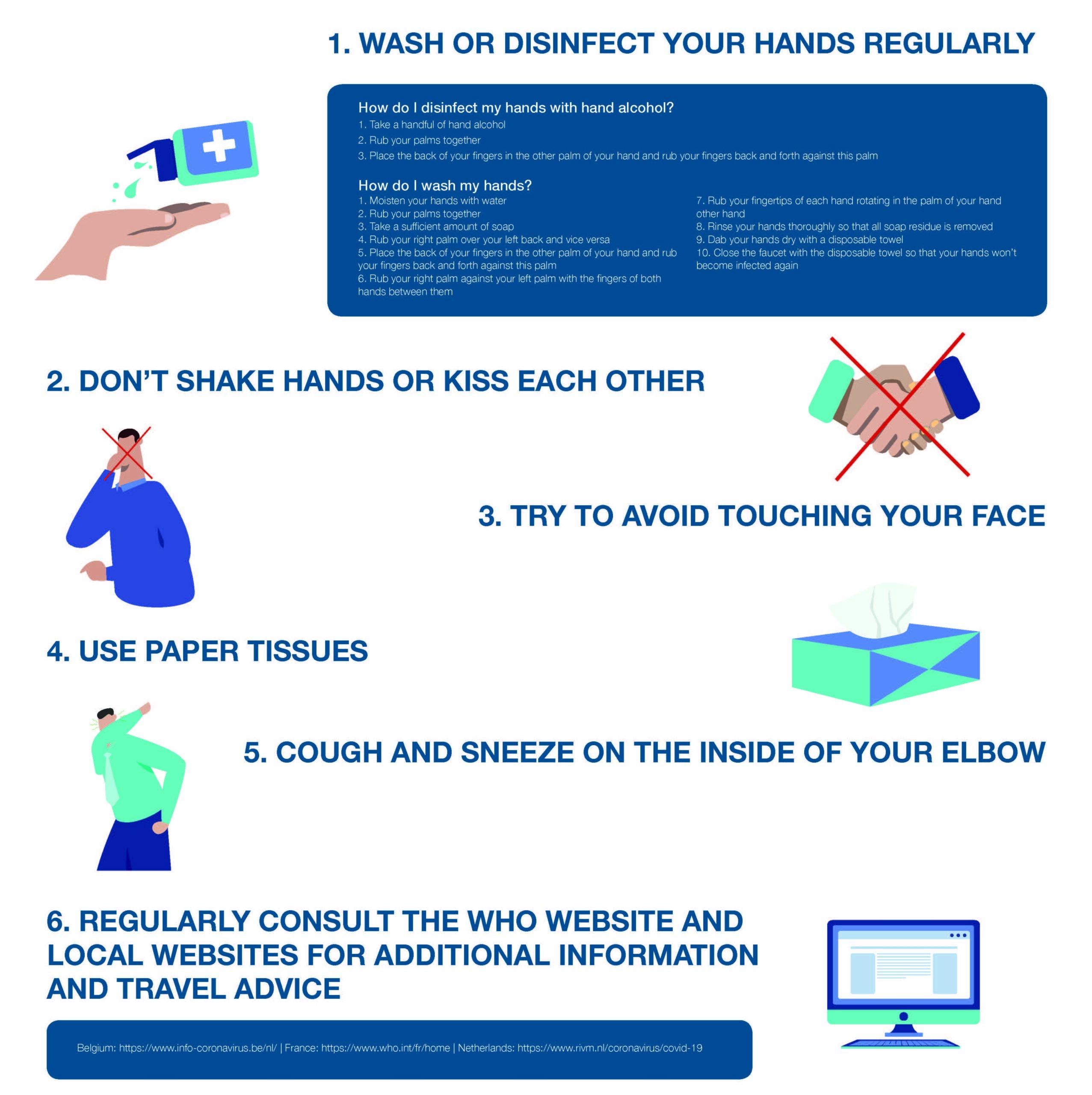 Hygiene leaflet